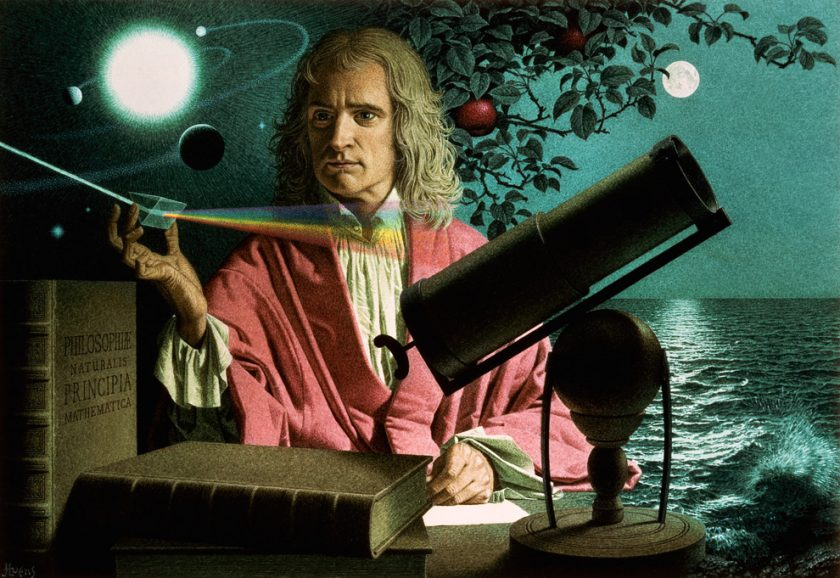 Photo of Biografi Isaac Newton, Sang Ilmuwan Inggris, yang Menemukan Gaya Gravitasi Bumi (INFOGRAFIS)