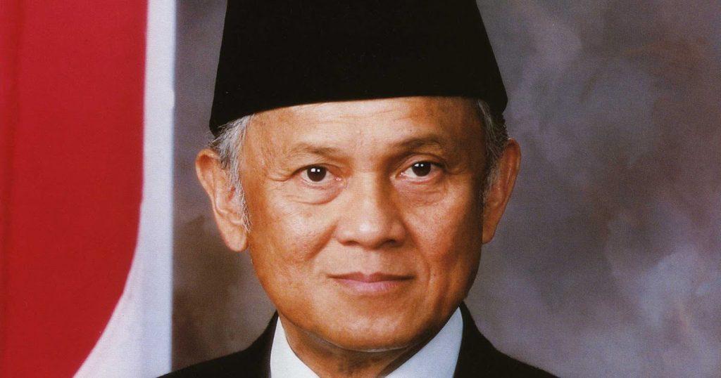 Biografi BJ Habibie. Sumber: blogspot.com