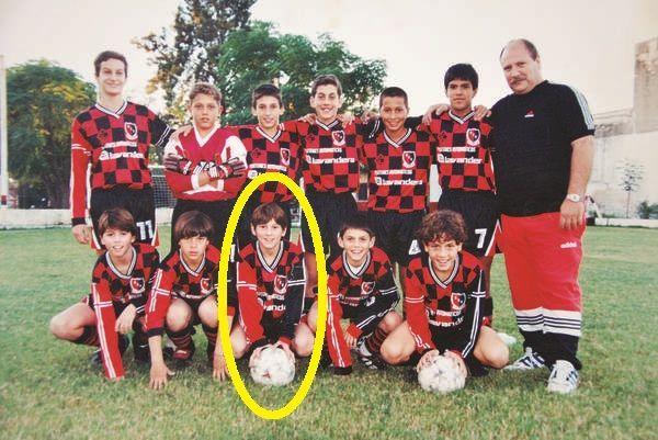 Lionel Messi di Barcelona FC