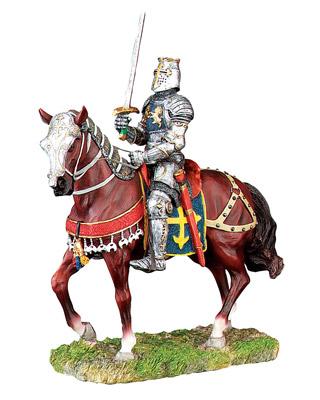 Ksatria Inggris Menaiki Kuda Perang