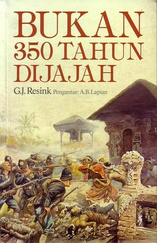 Buku Bukan 350 Tahun Dijajah