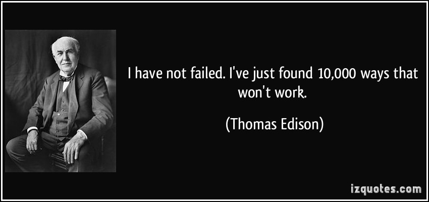 Kegagalan sebagai Pelajaran