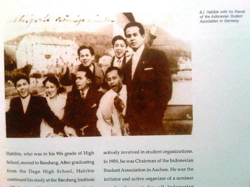 BJ Habibie Ketika Menempuh Kuliah di Jerman