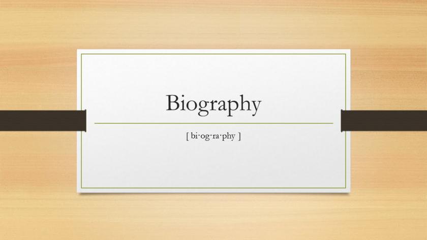 Photo of Biografi: Serba-serbi Cara Penulisan, Jenis dan Contohnya Sebagai Salah Satu Karya Sastra