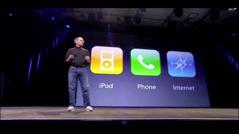 Presentasi Steve Jobs. Sumber: ytimg