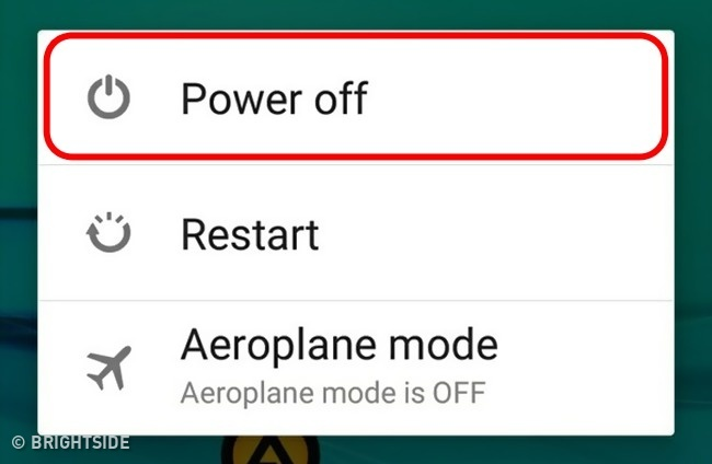 Matikan handphonemu untuk cooling down bateraimu