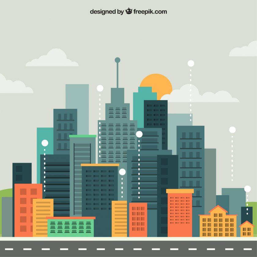 Gedung Tertinggi di Dunia. Sumber: Freepik