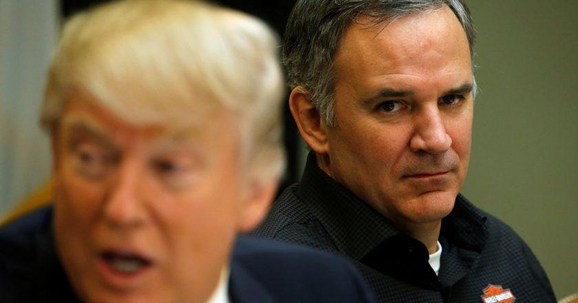 """Donald Trump Mengancam Harley Davidson: """"Jika memindahkan produksi ke luar negeri, mereka akan dikenakan pajak seperti yang tidak pernah ada sebelumnya."""""""