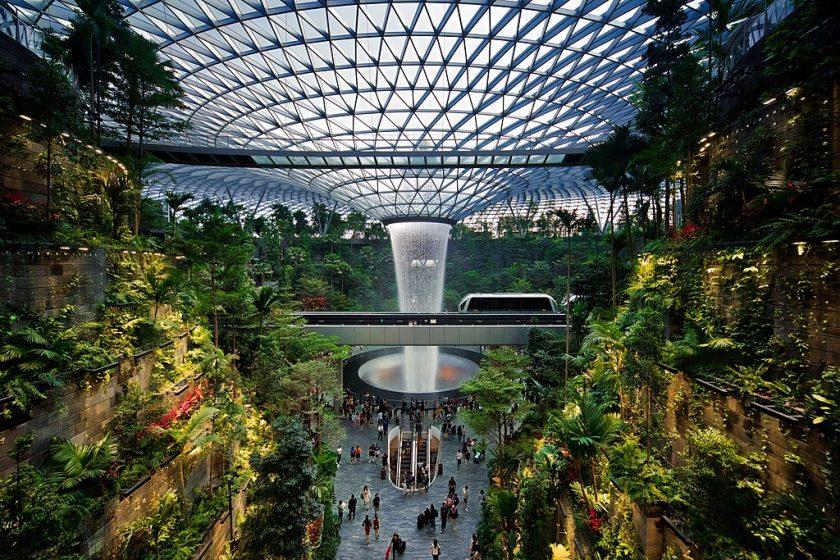 Benarkah Jewel Changi Airport Hasil Menjiplak? Sumber: Simpleflying