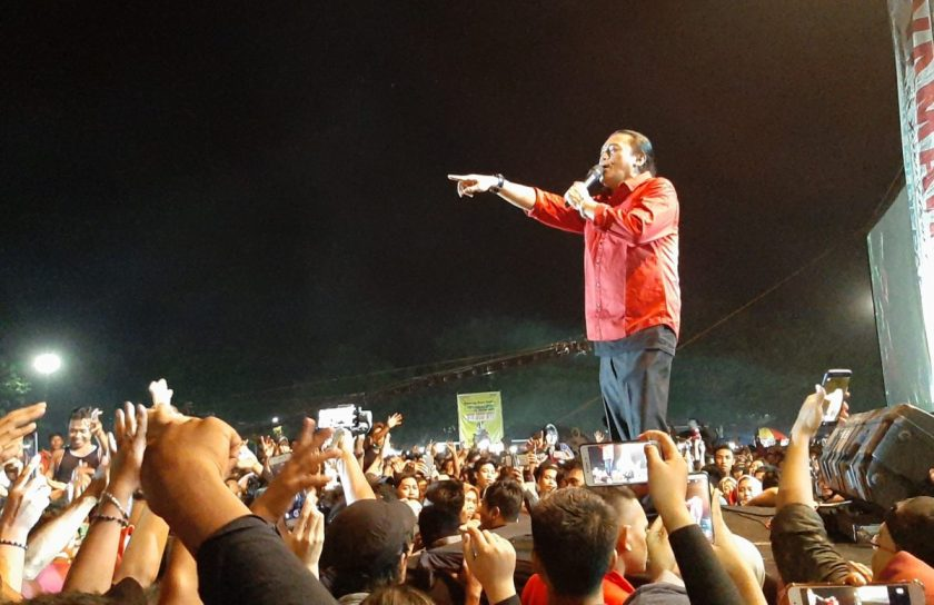 Sobat Ambyar Didi Kempot Harus Hafal dan Cinta Pancasila. Sumber: Sukoharjonews