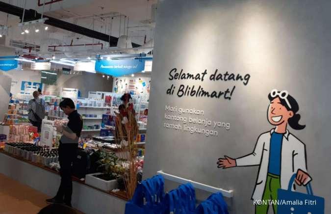 Blibli Meluncurkan Toko Offline Cashless Pertamanya. Sumber Foto: transonlinewatch