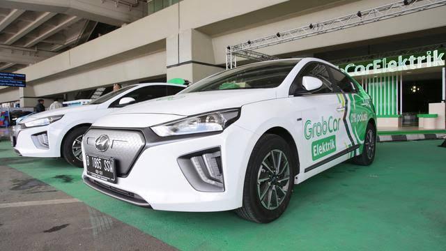 Grab Meluncurkan GrabCar Elektrik di Indonesia. Sumber Foto: liputan6